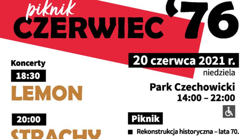 Piknik CZERWIEC'76 – 20 czerwca w Ursusie w Parku Czechowickim