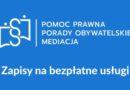 Punkty nieodpłatnej pomocy prawnej i nieodpłatnego poradnictwa obywatelskiego