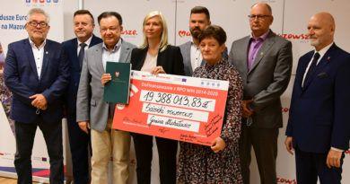 19,4 mln zł dofinansowania na budowę systemu tras rowerowych
